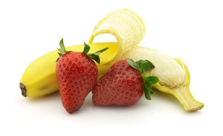 strawberry banana peach daiquiris