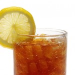 sweet tea with lemon
